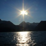 sunrise on resurection bay | Alaskafoto - Alaska aircraft portrait photographer & Alaska photography