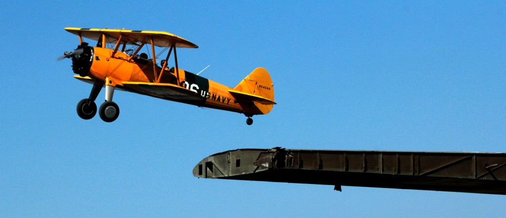 Stearman aircxraft, Alaska Aviation Museum, Alaska Aircraft