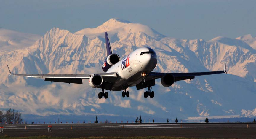 FedEx MD-11 approach PANC - Alaska air cargo | Alaskafoto - Aircraft Photography