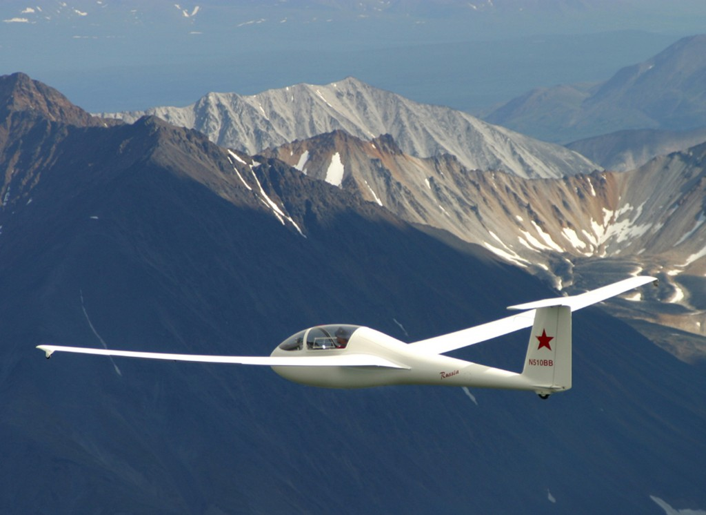 Alaska aviation - Russia Motorglider - Alaskafoto | Aircraft photography & environmental portrait