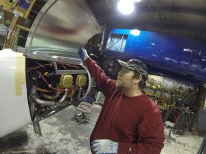 Aircraft Repair Raffle plane   Alaskafoto - Alaska Aircraft photography & Alaska Air Cargo photography
