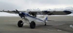 Dan's Rebuilt PA18 | Alaskafoto - Alaska aircraft photography & portraits, portrait photographers