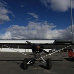 PA-18 Merrill Field, Anchorage   Alaskafoto - Alaska Aircraft photography & Alaska Air Cargo photography