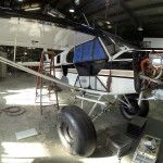 2014-Raffle Cub in hangar | Alaskafoto - Alaska Aircraft photography & Alaska Air Cargo photography