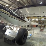 Left side view of the PA18 | Alaskafoto - Alaska Aircraft photography & Alaska Air Cargo photography