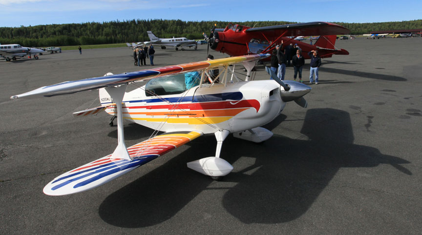 Alaska Experimental aircraft - Top environmental portrait & portrait photographers l Alaskafoto - Alaska photography
