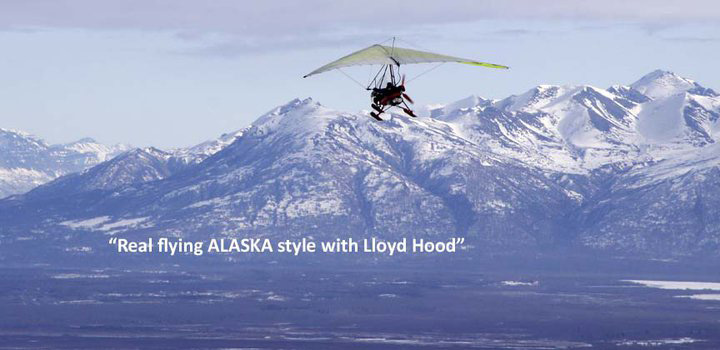 Alaska aviation, ultralight flying ELSA - Top environmental portrait & Alaska photography l Alaskafoto - Aircraft photography