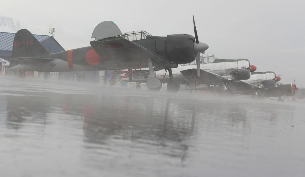 Japanese Zero, Alaska Commemorative Air Force - Aircraft Portrait l Alaskafoto - Alaska photography