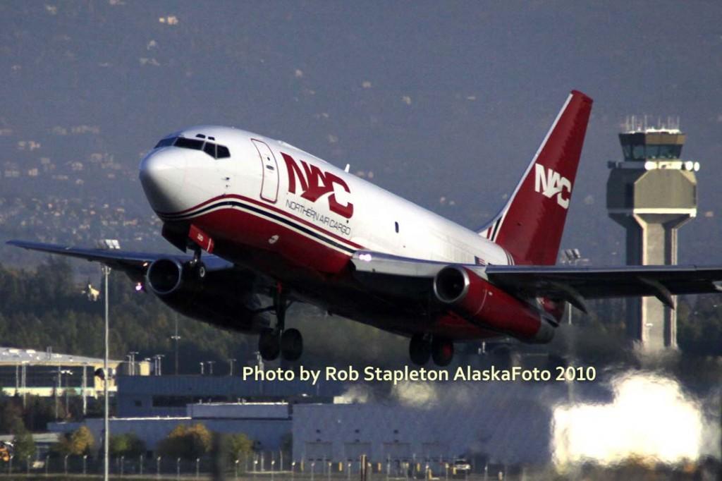 Air Cargo Boeing picture   Alaskafoto   Alaska air cargo, airplane photographer