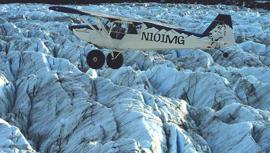 GLACIER Aircraft picture | Alaskafoto | best aircraft photography