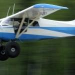 Maule aircraft in flight | Alaskafoto - Alaska Aircraft photography & Alaska Air Cargo photography