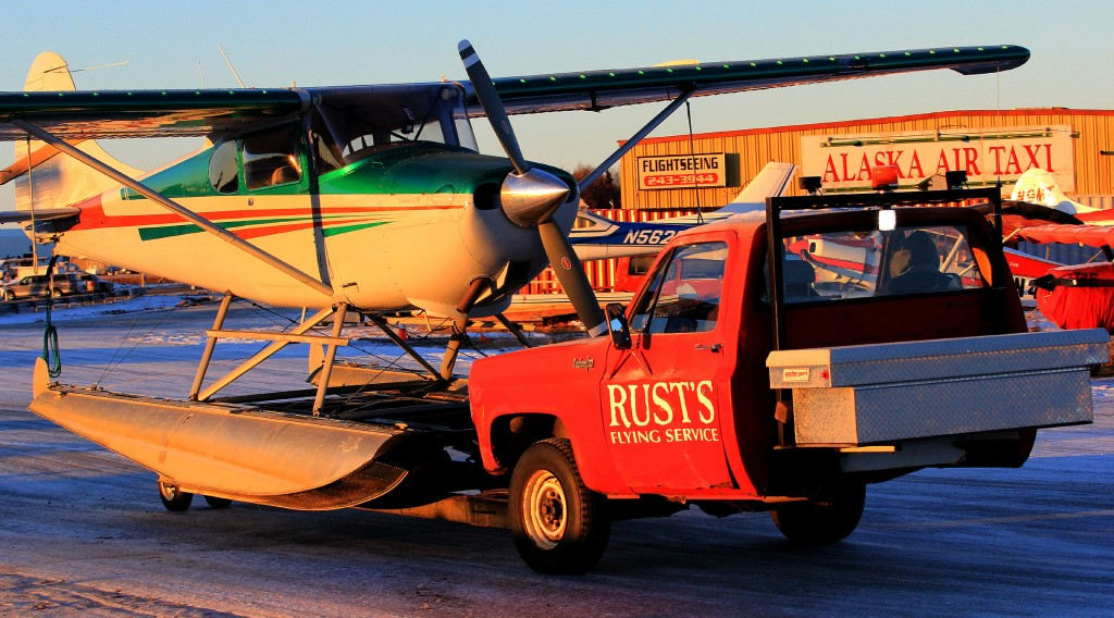 Cessna 170 on floats - Alaska Photography & environmental portrait l Alaskafoto - portrait photographer