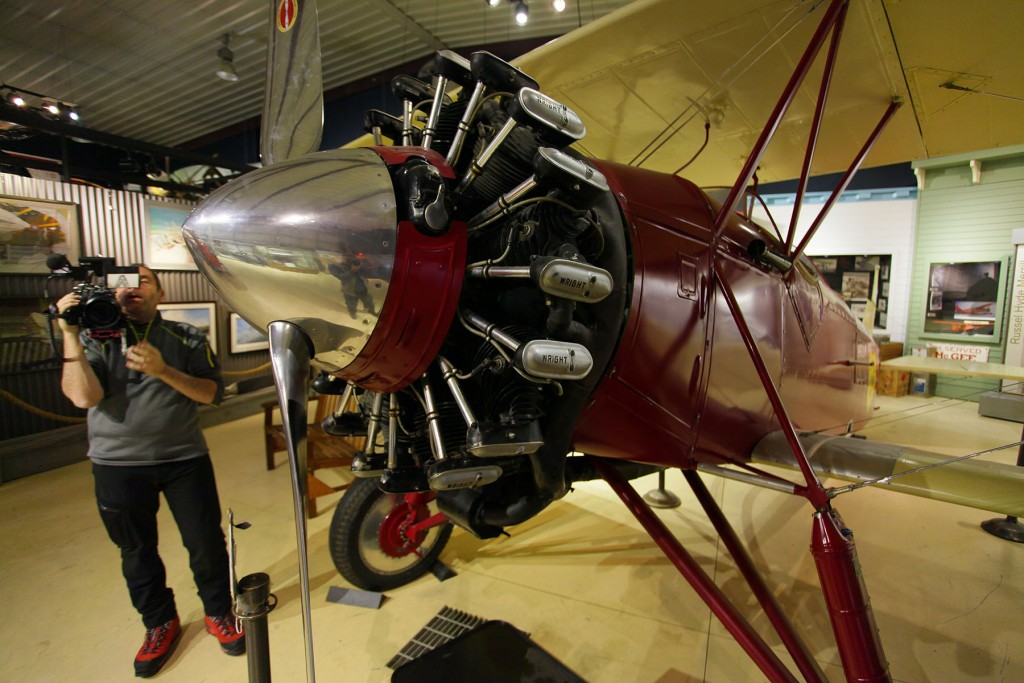 Stearman C2B at museum - Best Alaska photography & portrait photographers l Alaskafoto- Aircraft photography
