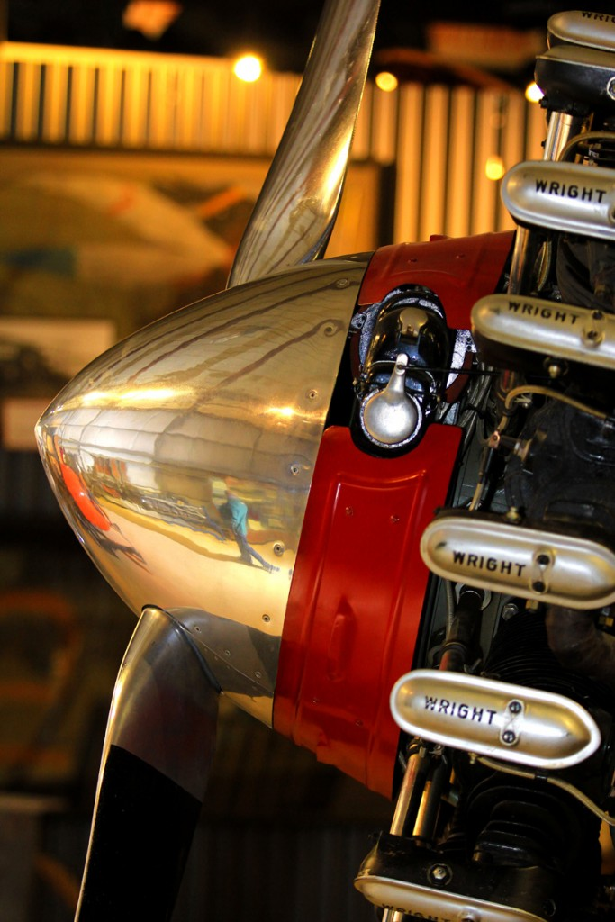 C2B Wright Whirlwind Engine - Aircraft portraits & Portrait photographers   Alaskafoto - Alaska air cargo
