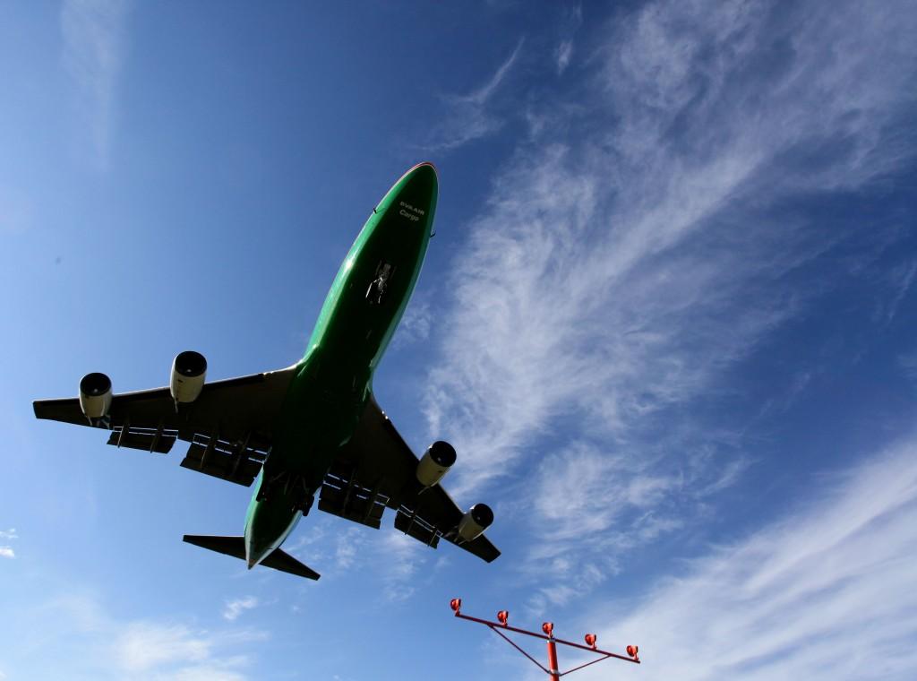 Cargo Jet Landing - Alaska Air Cargo & Alaska photography l Alaskafoto - environmental portrait