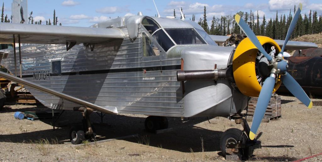 GAF Hawk 125 at Delta Alaska - Alaska Weird Aircraft Portraits l Alaskafoto - Best Alaska photography