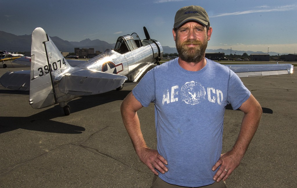 Airplane photographer Alaska  Alaskafoto- environmental portrait & portrait photographers Alaska