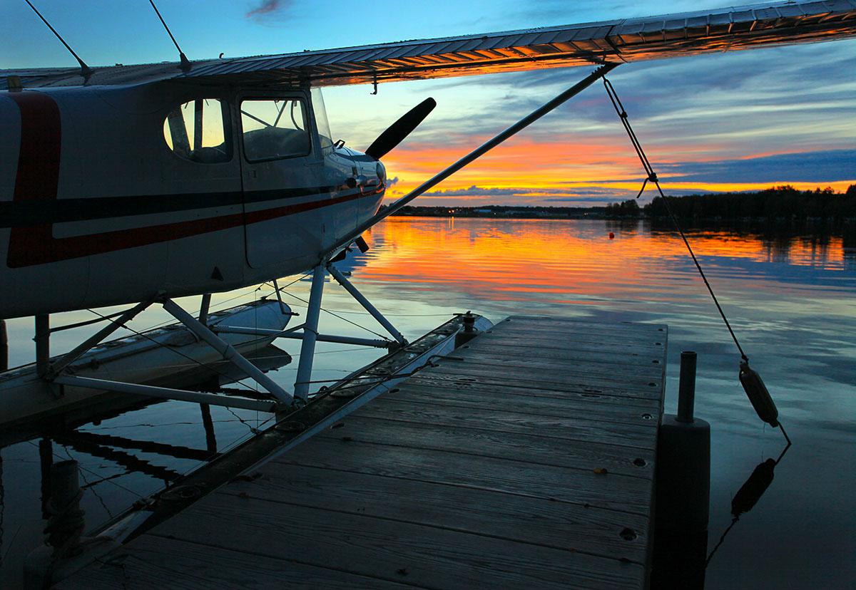 Best Alaska Photography Airplane | Alaskafoto - Aircraft Portraits & Environmental portrait