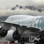 Cathay Pacific Cargo Boeing 747F on a tech stop at Ted Stevens Anchorage International Airport/PANC. Photo by Rob Stapleton/Alaskafoto