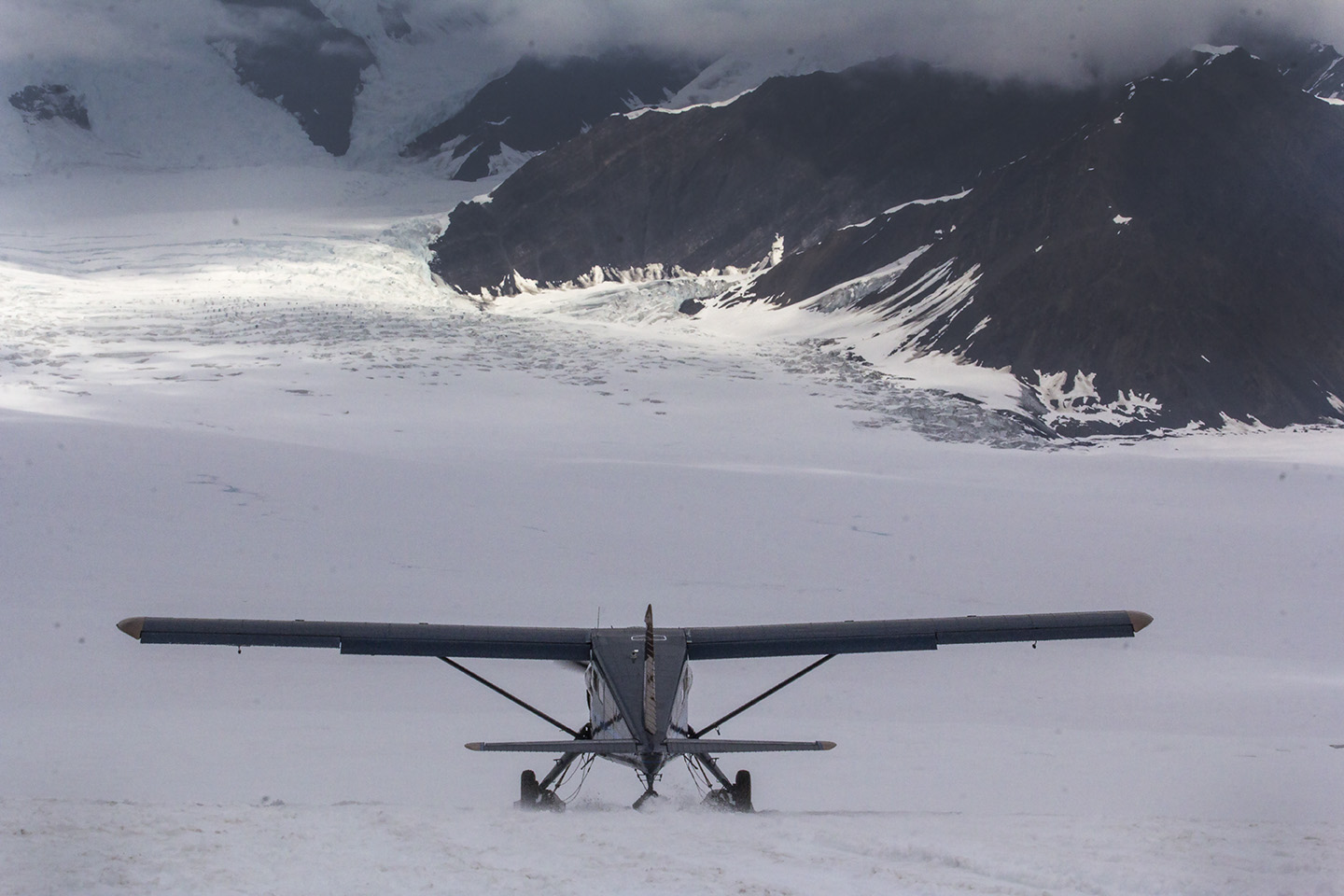 best aircraft photography on snow
