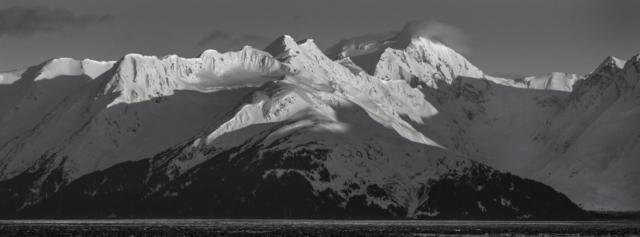 Turnagain Arm mountains, south of Anchorage - Best Alaska photography   Alaskafoto