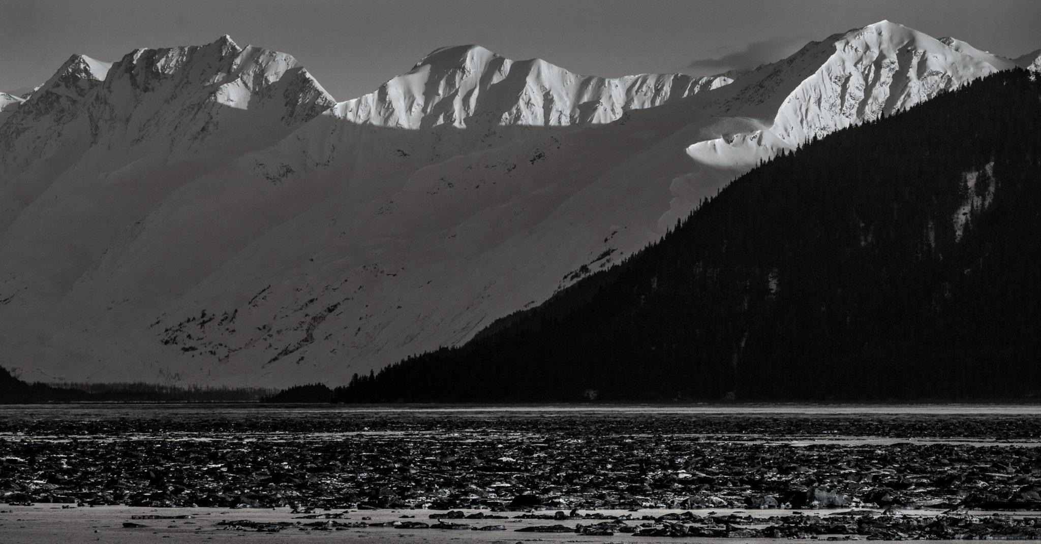 mountains and peaks around the Turnagain Arm - Alaska photography   Alaskafoto