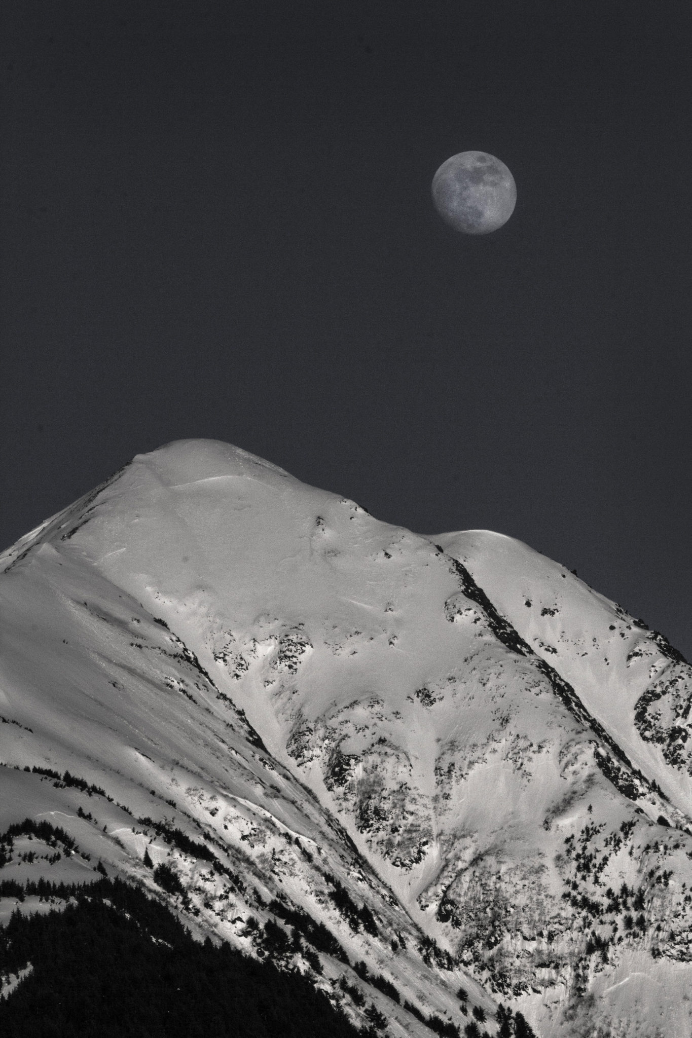 The mountains and peaks south of Anchorage - Alaska photography   Alaskafoto