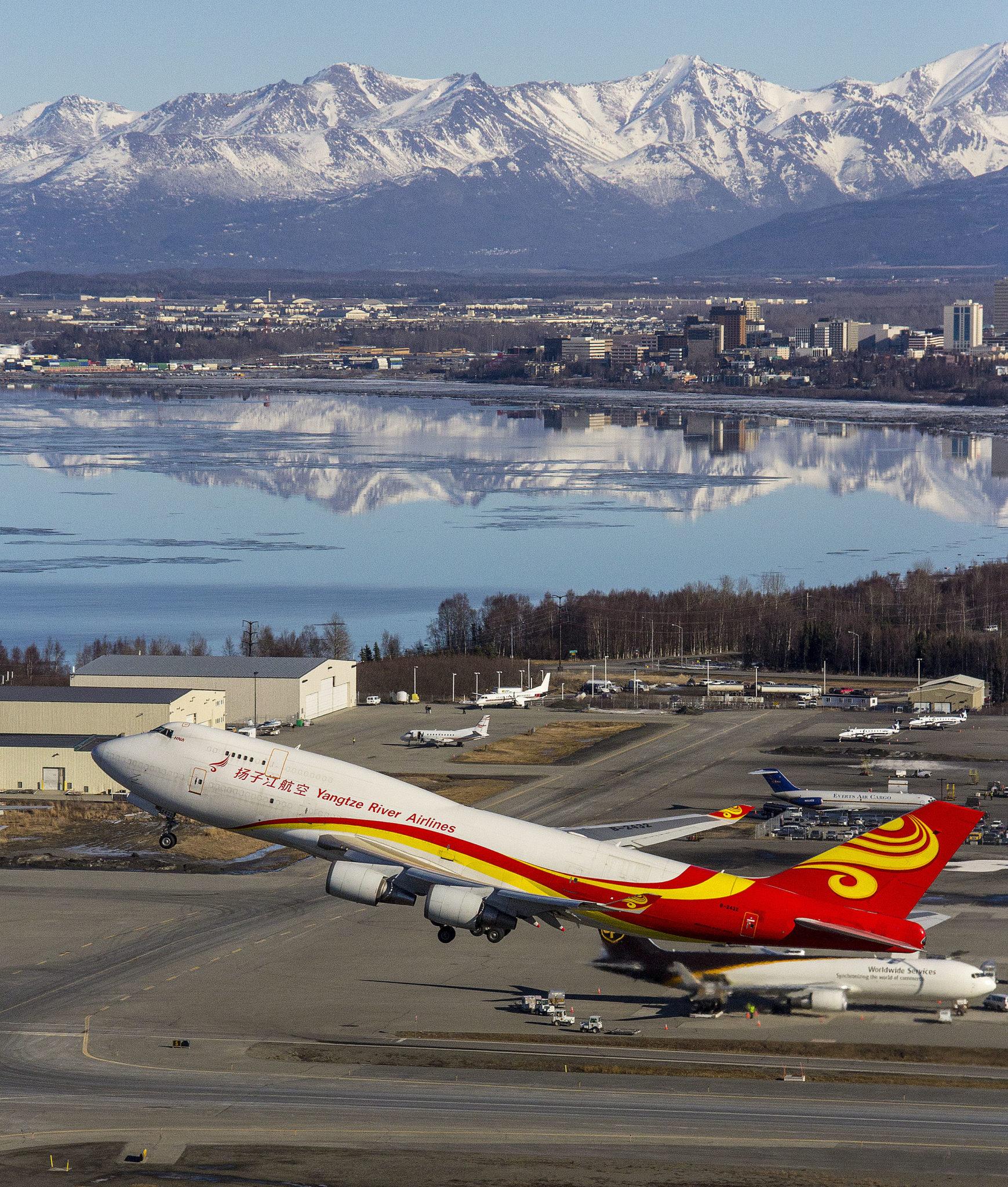 Alaskafoto cargo jet image