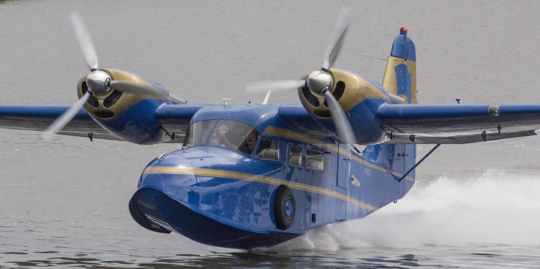 Alaska aviation image McGoffin Widgeon | Aviation Photography | Alaskafoto