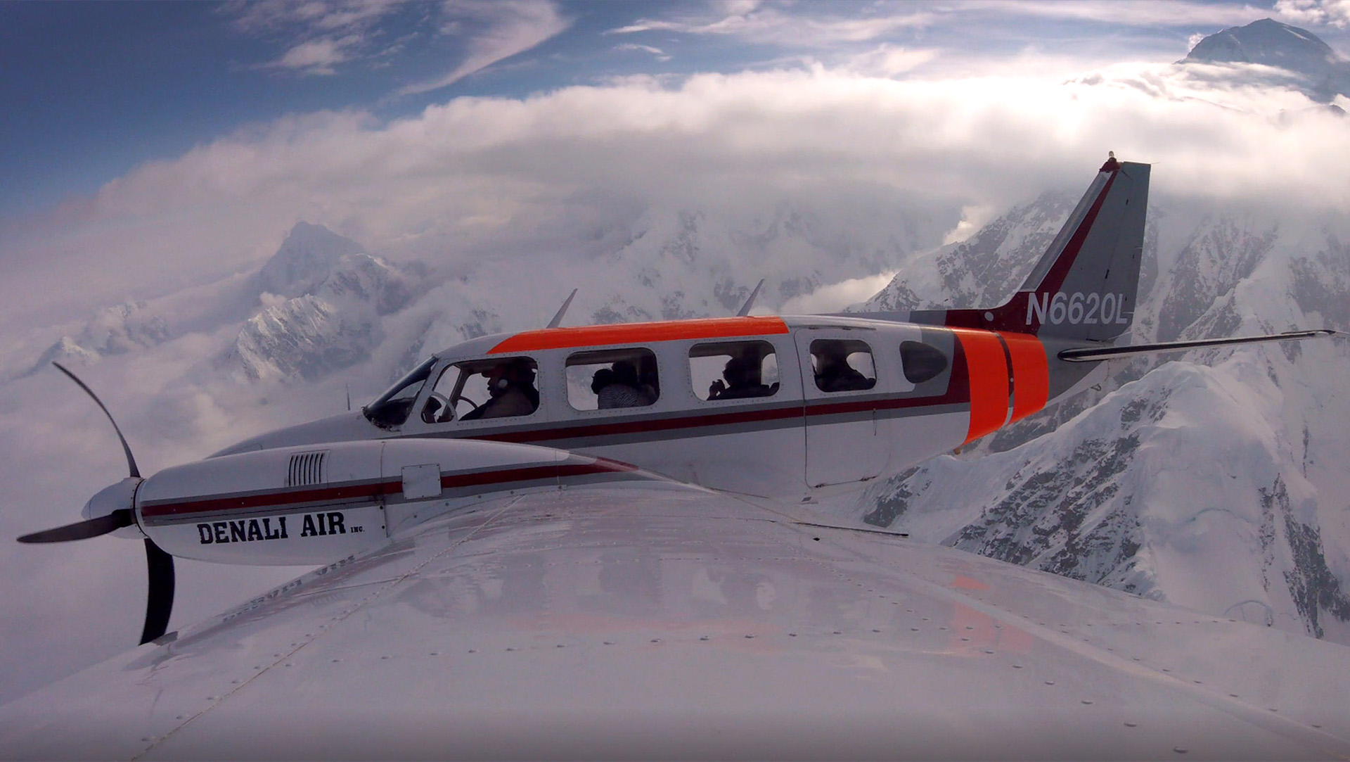 Aviation Photography in the Snow - Best Alaska Photographer | Alaskafoto